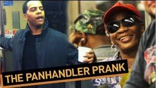 Pandhandler Pranks Entire Subway Car