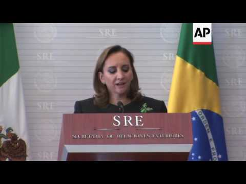 Brazil Foreign Minister visits Mexico