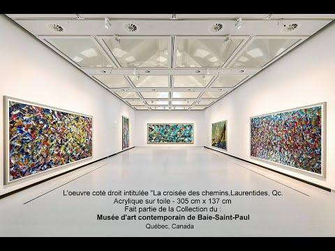 ARTISTE CANADIEN, CHARLES CARSON CRÉATEUR DU MOUVEMENT CARSONISME - Heroes of Creativity, NY