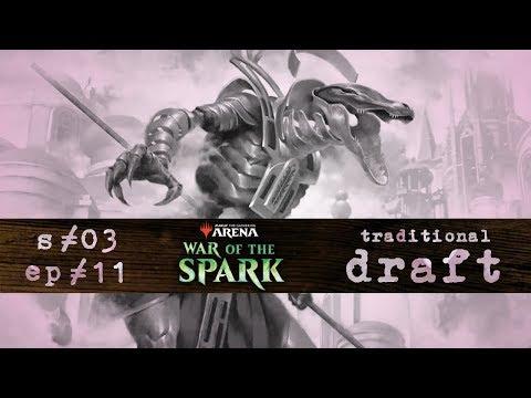 radio Kyoto s03 ep11 | War of the Spark Draft | MTG Arena