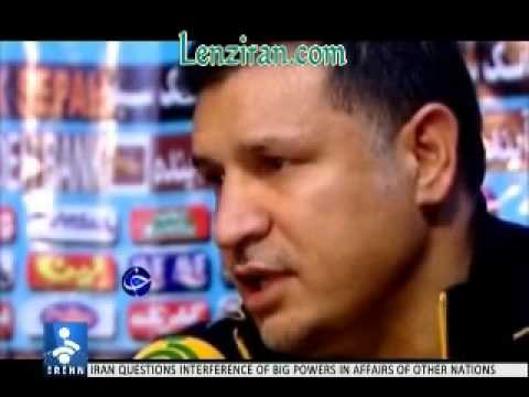 Ali Daei discuss economy and Niki Karimi produce football documentary !