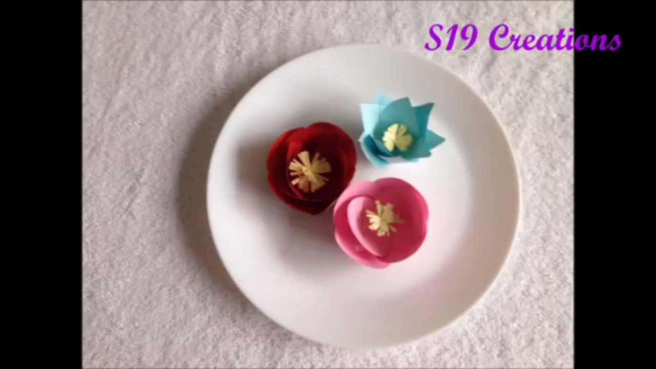 Ddiy easy paper flowers how to make paper flowers quick easy ddiy easy paper flowers how to make paper flowers quick easy simple dhlflorist Gallery
