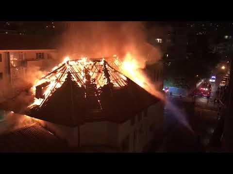 שריפה בבית כנסת בעיר קייפטאון: שבעה ספרי תורה נשרפו כליל