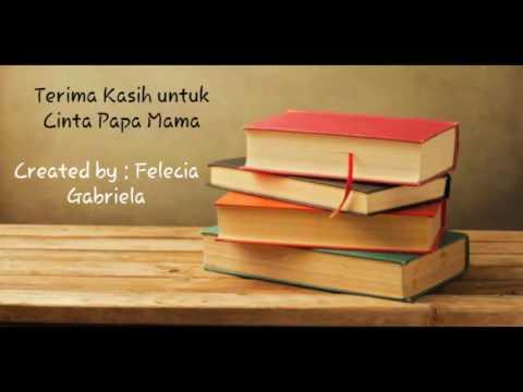 Terima Kasih untuk Cinta Papa Mama (with lyric)