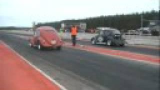 Drag race Hälsingland Open Europa/Asien Helsinge Motorstadion Söderhamn (JVC Adobe)
