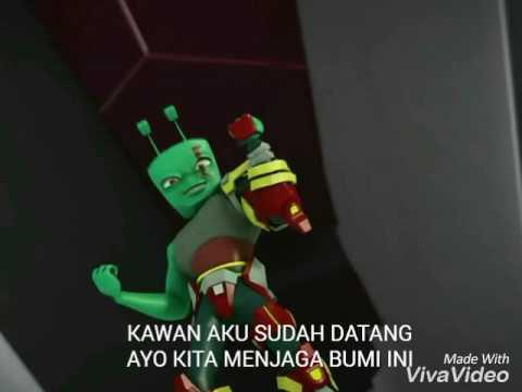 Lyrics Kotak-Jagalah Bumi Boboiboy OST Versi 1