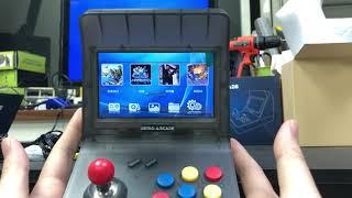Retro Arcade 開箱實測--內建多種模擬器~共計三千款遊戲的迷你街機(麻雀雖小~五臟俱全)