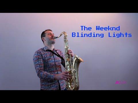 The Weeknd - Blinding Lights (JK Sax Cover)