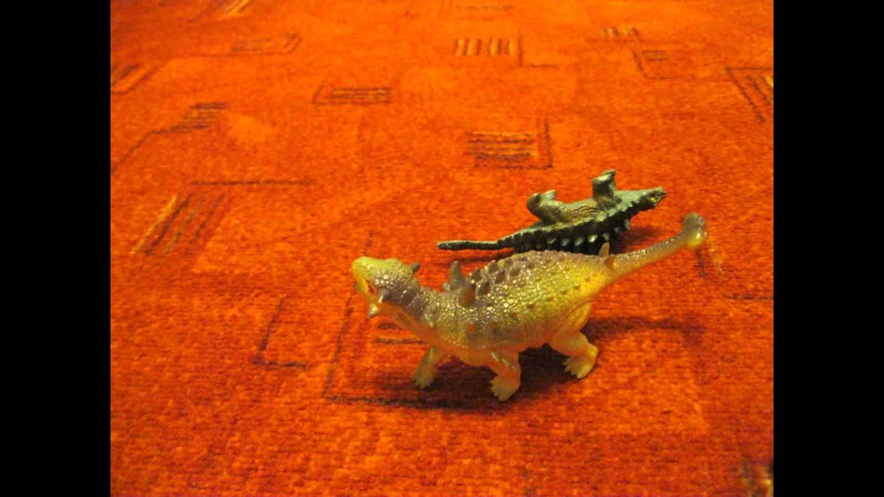 ninja ankylosaurus VS. neporazitelny euoplocephalus - YouTube