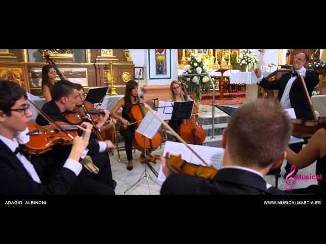 Adagio - Albinoni Parroquia San Francisco Javier Bodas Murcia Bodas Alicante