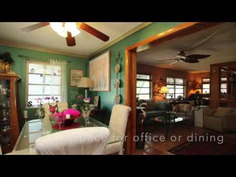 Drone video of 93 Marina Avenue, Key Largo