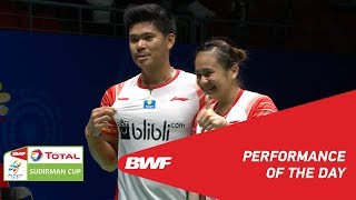 TOTAL BWF SUDIRMAN CUP 2019 Performance of the day Quarterfinals BWF 2019
