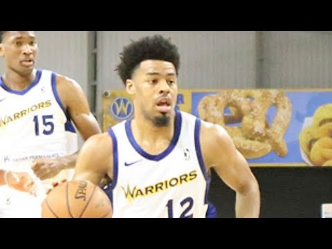 Warriors two-way G Quinn Cook continues to stuff the stat sheet vs. Texas