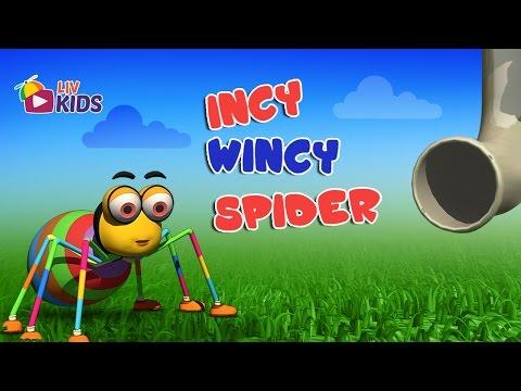 Incy Wincy Spider with Lyrics | LIV Kids Nursery Rhymes and Songs | HD