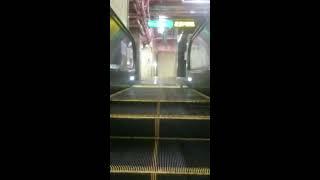 【2種存在】名古屋市営地下鉄東山線 中村日赤駅 エスカレーター