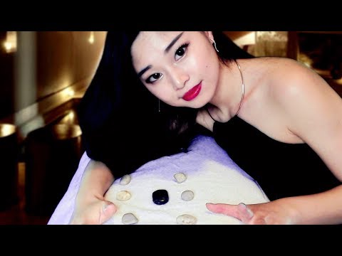 [ASMR] Chinese Back Massage and Mapping