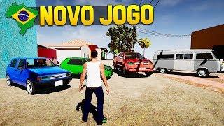 SAIU NOVO JOGO ESTILO GTA COM CARROS BRASILEIROS - DOWNLOAD