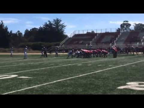 Highlights from TL Lowell today + thoughts from WR  @kirbyd_ #marinfootball