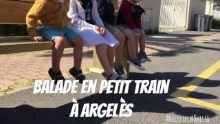 Sortie en petit train à Argelès