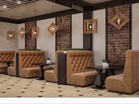 Дизайн кафе в общественной бане город Алмты
