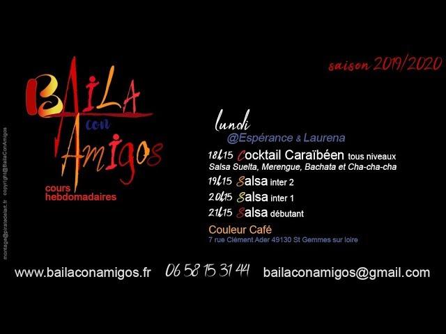 Baila con Amigos - cours de Salsa cubaine