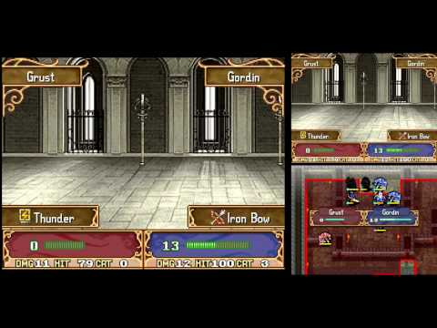 Let's Play Fire Emblem: Shadow Dragon #018 - Chapter 12 Pt. 1: The Ageless Palace (720hd)