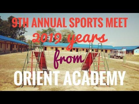 ORIENT ACADEMY...// 9th Annual sports meet.2019.