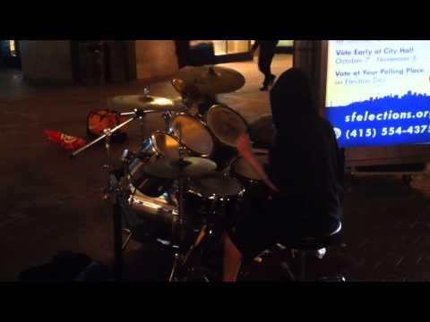 Machine Gun Drummer
