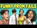 10 FUNNY PROM FAIL REACTIONS