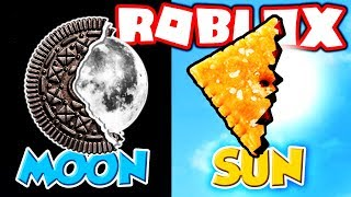 CHANGING THE ROBLOX SUN INTO A CHEEZ-IT!