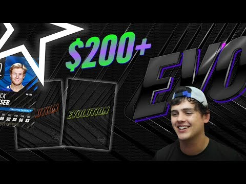 MASSIVE EVO2 PACK OPENING + CHRISTMAS REAWRDS | NHL 19 PACK OPENING