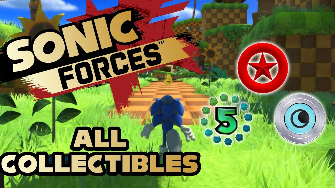 Sonic Forces Stage  Red Rings