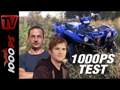 1000PS Test - Yamaha Grizzly 700 EPS Quad