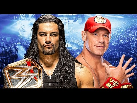 Roman Reigns vs John Cena Wrestlemania 32...