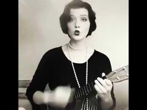 Five Foot Two Eyes Of Blue (Has Anybody Seen My Gal) 1920s ukulele version. -Faith Evangeline