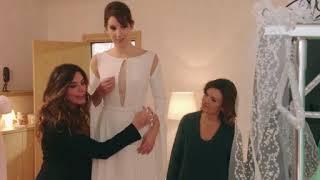 La robe de mariée de Barbara PBLV-Plus belle la vie
