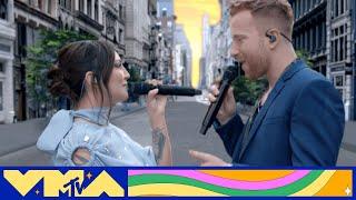 "Julia Michaels & JP Saxe Perform ""If the World Was Ending""   2020 MTV VMAs"