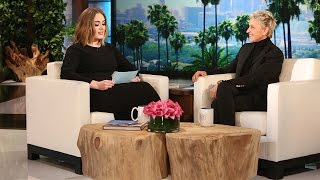 Hello, It's Adele (on Ellen's Voicemail)(While the singer was visiting, Ellen asked her for a quick favor. This is one voicemail you'll always hope to get., 2016-02-18T14:00:01.000Z)