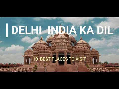 Top 10 Places in Delhi || Delhi Hangouts || Delhi Tourism