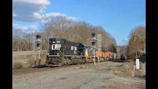 Running Southern Style.  NS 61F at MP 328