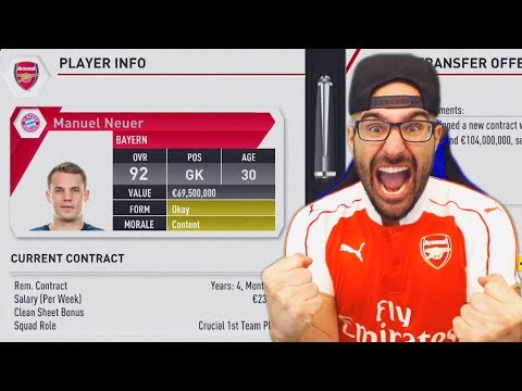 CRAZIEST TRANSFER IN CAREER MODE HISTORY! - FIFA 17 ARSENAL CAREER MODE #06