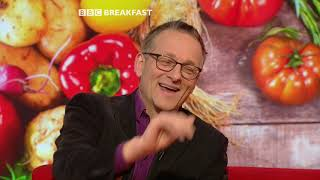 Dr Michael Mosley talks to BBC Breakfast about his latest book The Fast 800