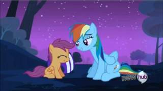 My Little Pony Friendship is Magic Rainbow Dash Takes Scootaloo Under Her wing