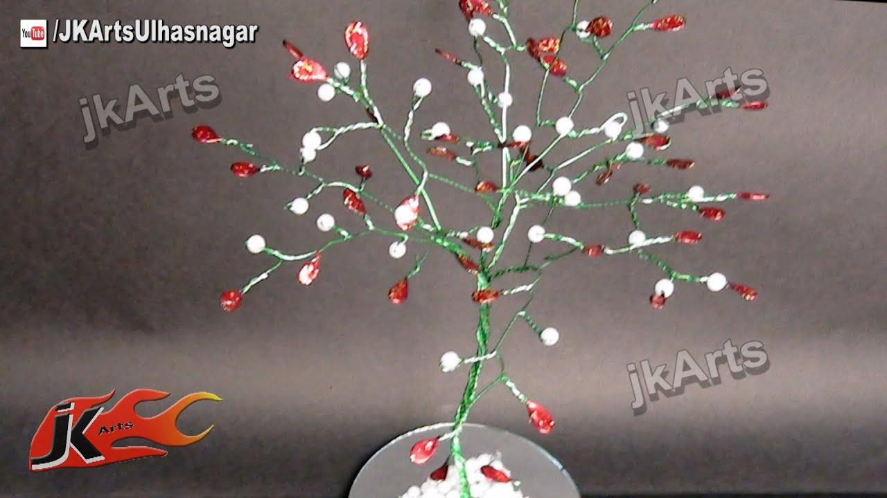 Wire Tree Tutorial using Nail Polish | JK Arts 442 - YouTube