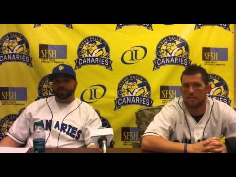 SIoux Falls Canaries Post-Game Interview 6/20/15