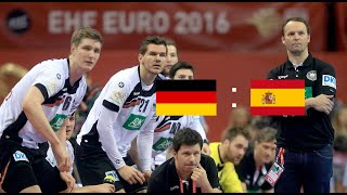 Deutschland vs. Spanien | Handball-EM 2016 Finale | Highlights!!
