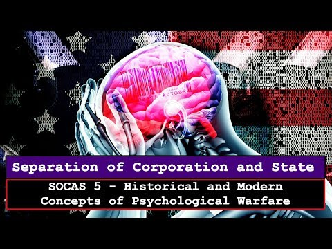 Historical and Modern Concepts of Psychological Warfare - SOCAS5