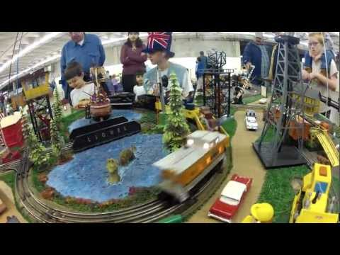 Lionel Train and Vintage Display at The Great Train Show