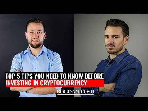 How To Invest in Cryptocurrency: The 5 Tips You NEED To Know   with Dragos Stefanescu
