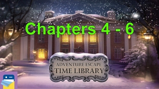 Adventure Escape Time Library: Chapters 4, 5, 6 Walkthrough Guide (Haiku Games)